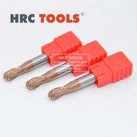 R8x32Hx16Dx150L Мяч Нос Endmill Вольфрам карбида сплава HRC55 фрезы для металла
