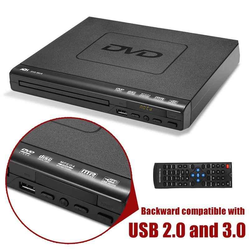 110 V-240 V USB портативный многократное воспроизведение DVD плеер ADH DVD CD SVCD VCD дисковый плеер система домашнего кинотеатра с удаленный контроль