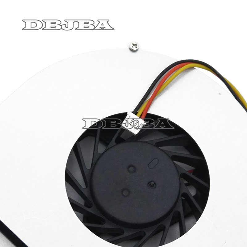 CPU Cooler Ventilador de refrigeração para Lenovo IdeaPad Y550 Y550P Y550A GB0507PHV1-A 13. v1.B3833. f. GN 5 V 1.15 W AB7005HX-LD3 KIWB1 Laptop