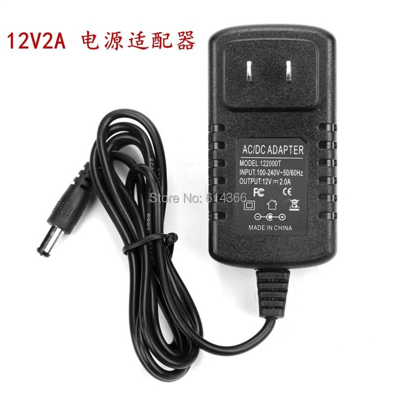 1 sztuk 12v2a zasilacz impulsowy lampa LED zasilacz 12 v zasilacz 12v2a zasilacz 12 v 2a router