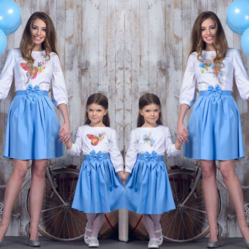PUDCOCO Latest Household Outfits Children Cotton Children Garments Units Mom Daughter Matching Girls Ladies Blue White Costume New Aliexpress, Aliexpress.com, On-line procuring, Automotive, Telephones & Equipment, Computer systems &...