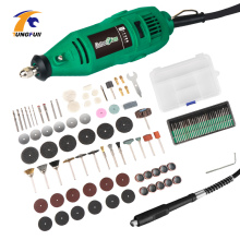 hot deal buy electric drill 260w variable speed power tools with mini drill accessories mini polishing machine grinding carving cutting