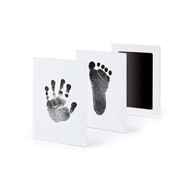Appena nato Del Bambino Handprint Impronta Pad Olio Pittura A Inchiostro Pad Foto A Mano di Stampa Del Piede Pad Meraviglioso Souvenir