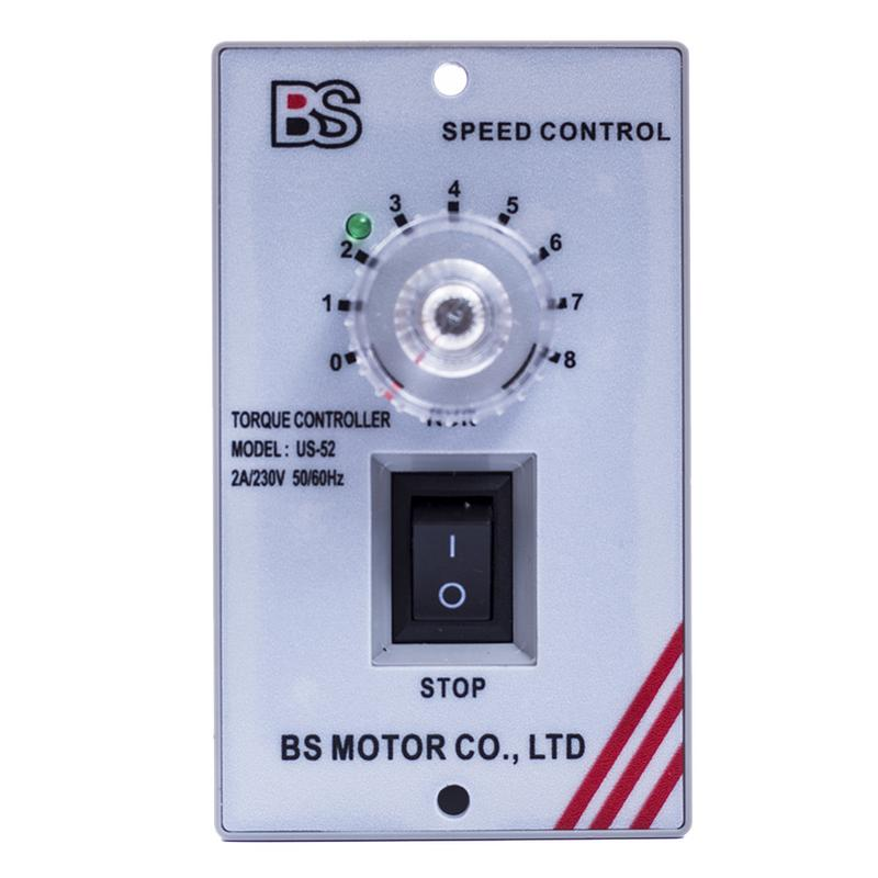 AC 220V 400W Electronic Speed Motor Controller Switch Governor Miniature Deceleration 90 to 1400RPM Motor Speed Regulator
