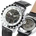 Роскошные автоматические часы для мужчин Gear дизайн водонепроницаемые мужские наручные часы из натуральной кожи relogio masculino новые часы 2020