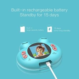 Image 5 - K5 caméra numérique Hd bande dessinée pour enfants Anti chute petite grenouille caméra (bleu)