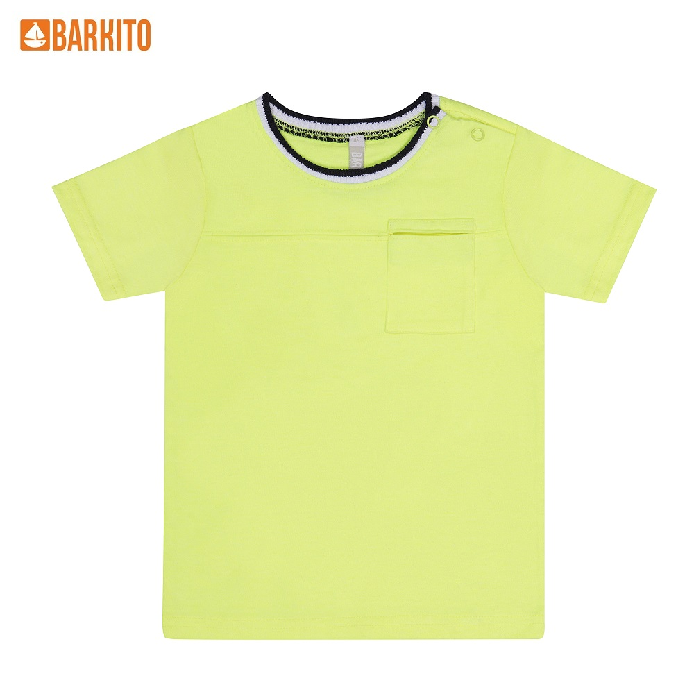T-Shirts Barkito 339006 children clothing Cotton 32A-30475KOR Yellow Boys Casual t shirts barkito 339006 children clothing cotton 32a 30475kor yellow boys casual