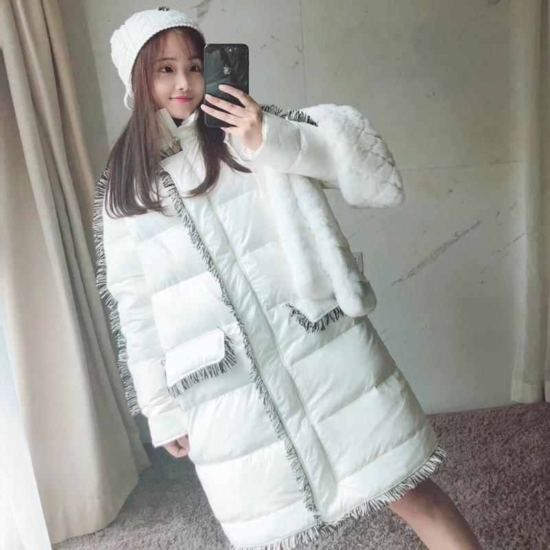 002eac5cb367 Nappa Calda Chiusure Del Alla Dolcevita Vestiti Inverno Vendita Lunga  Abbigliamento Moda Casual 2018 Cappotto Sezione ...
