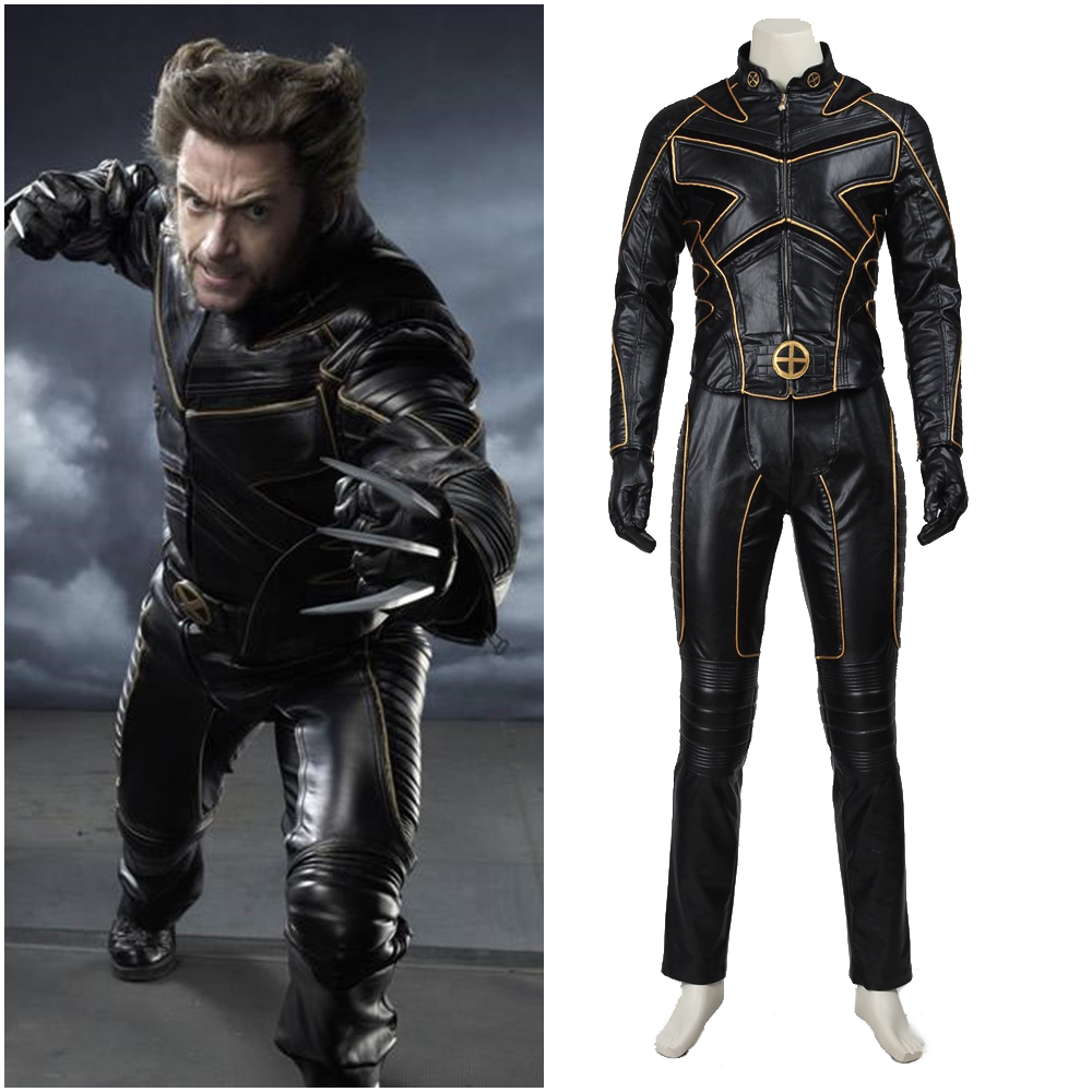 Brand New X-men Logan Wolverine Child Costume
