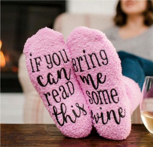 Hot Sell Warm Women Soft Cosy Fuzzy Warm Home Pink Slipper Floor   Socks   Winter