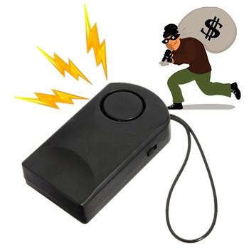 Przenośny czujnik drzwi uchwyt do drzwi z alarmem Alarm dotykowy 120dB zabezpieczenie przed kradzieżą bezpieczeństwo drzwi syrena Hotel zabezpieczenie do drzwi Stop Alarm tanie i dobre opinie OWGYML 1403178 Door Stop Alarm Anti-theft Door Security Siren Touch Alarm Door Sensor Alarm