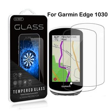 For Garmin Edge 1030 0.3mm 2.5D Tempered Glass Screen Protector Ultra-thin 9H Clear Anti-scratch Film For 1030 Explore tempered glass film for samsung gear s3 smart watch 9h anti scratch ultra thin screen protector film