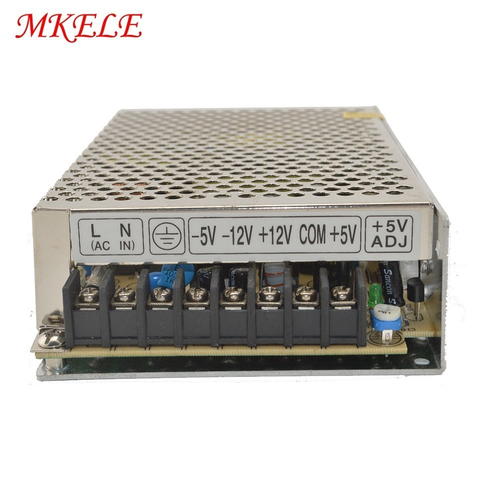 60W Quad Output Switching Power Supply With CE Rohs Q Series 5V 12V -5V -12V 60W Q-60B60W Quad Output Switching Power Supply With CE Rohs Q Series 5V 12V -5V -12V 60W Q-60B