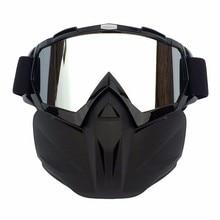 Men Women Ski Snowboard Face Mask Snowmobile Goggles Snow Winter Windp