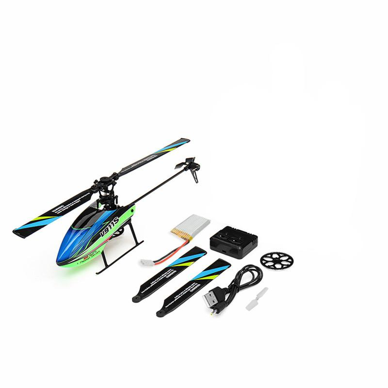 Image 5 - WLtoys V911S 2.4G 4CH 6 Aixs Gyro Flybarless RC Helicopter BNF Remove Control Plane Children Birthday Gift Outdoor Toy for Kids-in RC Helicopters from Toys & Hobbies