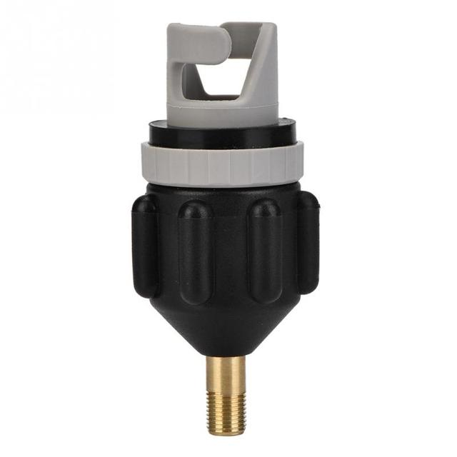 Inflatable Rowing Boat Air Valve Adaptor Sup Board Kayak Pump Adaptor With Standard Conventional Air Valve Attachment