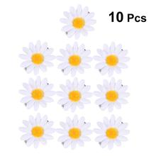 10pcs Sunflower Hair Clips Cute Daisy Decorative Hair Barret