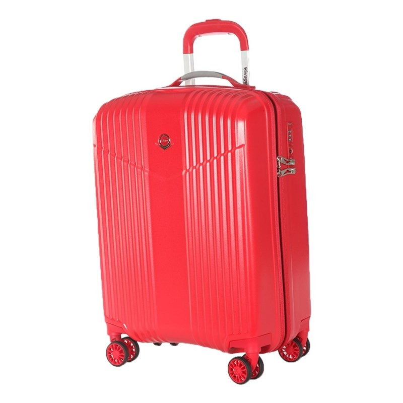 Suitcase-trolley Verage GM17072W19 ruby red