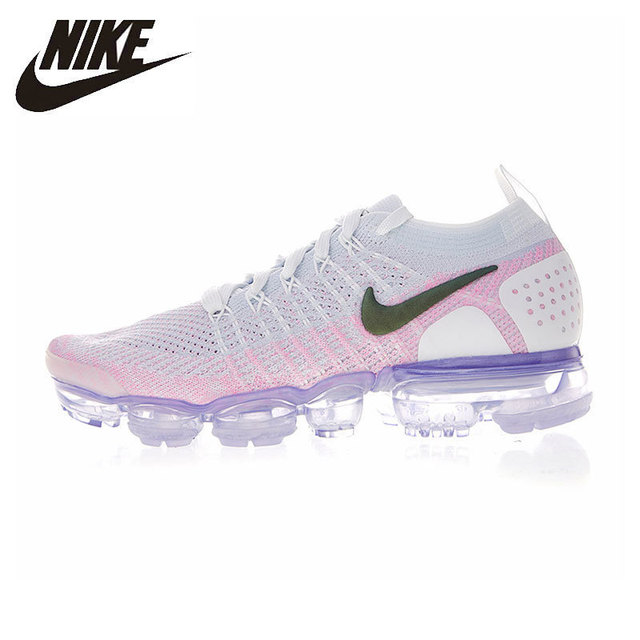 huge discount b02ed 0604a US $270.0 |NIKE Air Vapormax Flyknit Original Womens Running Shoes  Breathable Stability Support Sports Sneakers For Women Shoes#942843 102-in  Running ...
