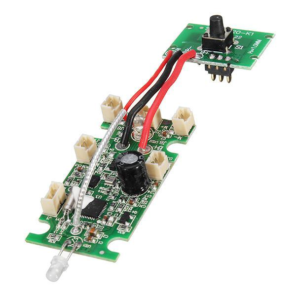LeadingStar E58 RC Quadcopter Spare Parts Receiver Board with High Hold Mode Switch Board Suitable for Eachine E58 Pakistan