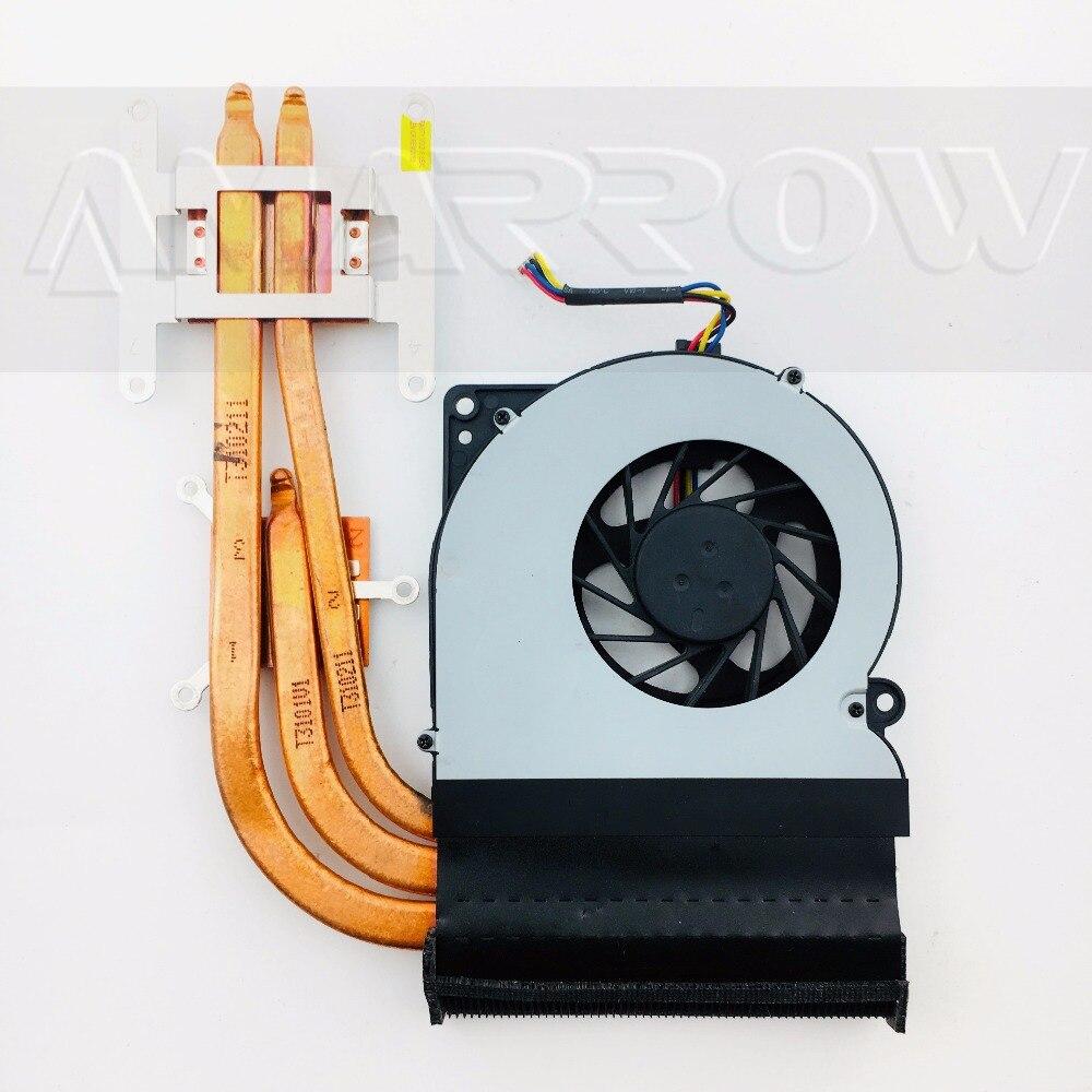 Original Laptop Heatsink Cooling Fan Cpu Cooler For Asus N61 N61J N61JV N61VG CPU Heatsink Fan GXA0101 Enhanced