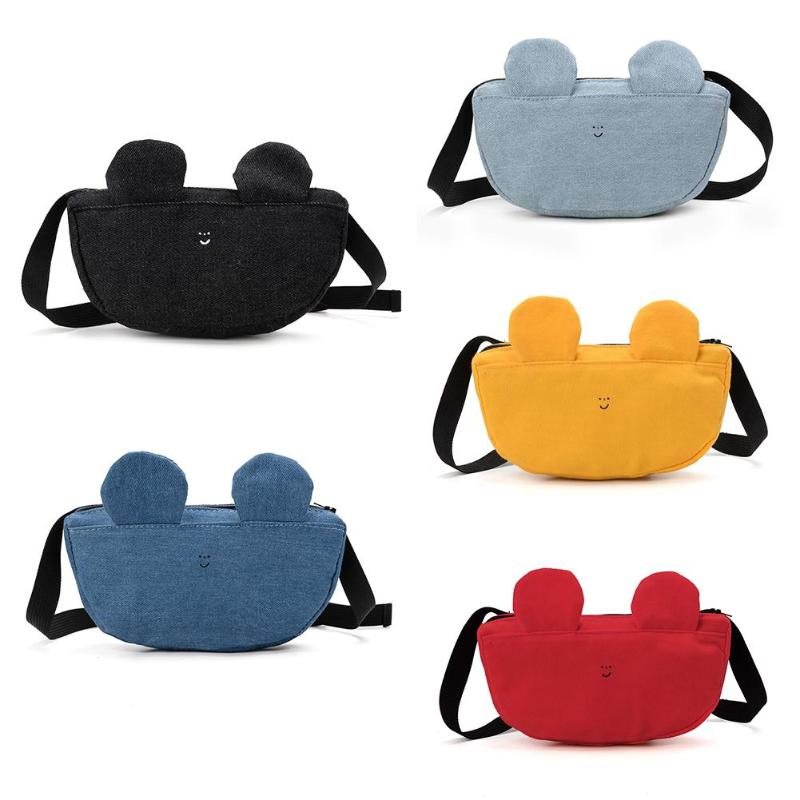 Children Waist Packs Fanny Bags Cute Chest Bags Kid Boys Girls Money Wallet