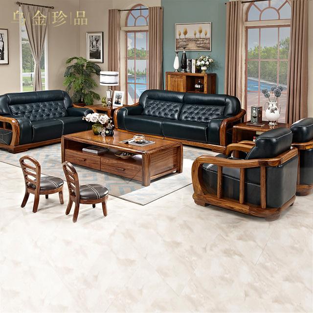 Genuine Leather sofa couches for living room set canape salon muebles de sala Wood furniture divano sofas beanbag sillones chic
