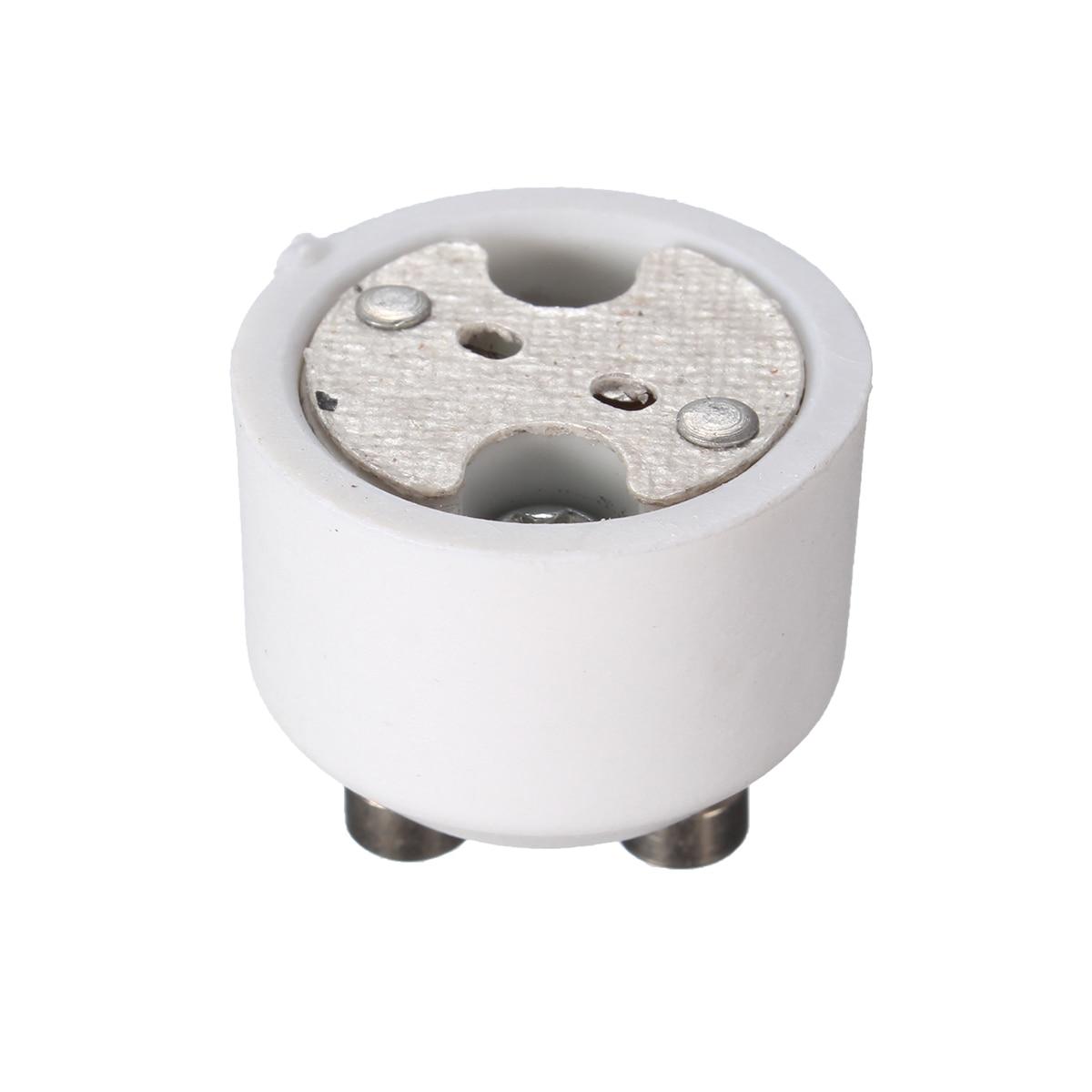 ARILUX GU10 To MR16 Adapter Socket Base Halogen Light Bulb Lamp Converter Holder Lamp Holder