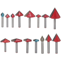 6Mm V Bit Cnc Solid Carbide End Mill Tungsten Steel Woodworking Milling Cutter 3D Wood Mdf Router Bit 60 90 120 150 Degrees