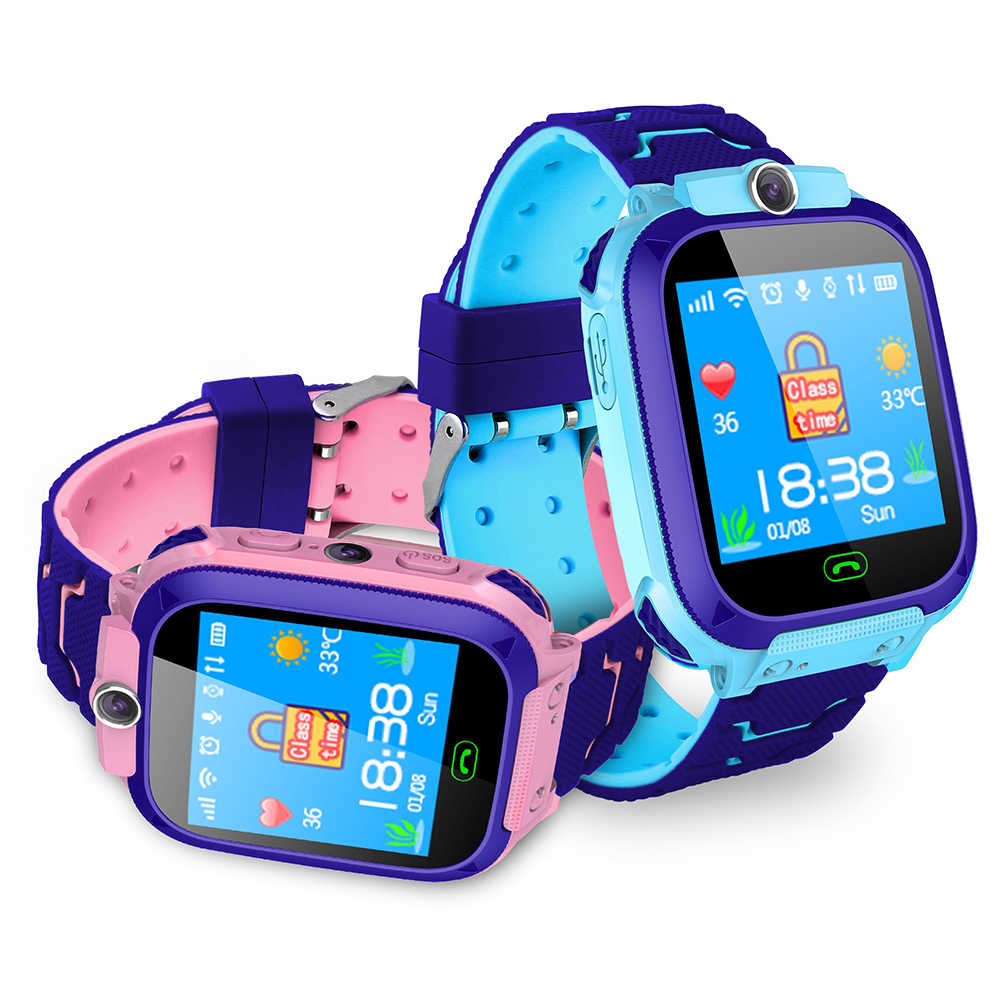 S9 children's smart phone LBS positioning watch student 1 4 inch waterproof  smart watch dial voice chat built-in game Dropship