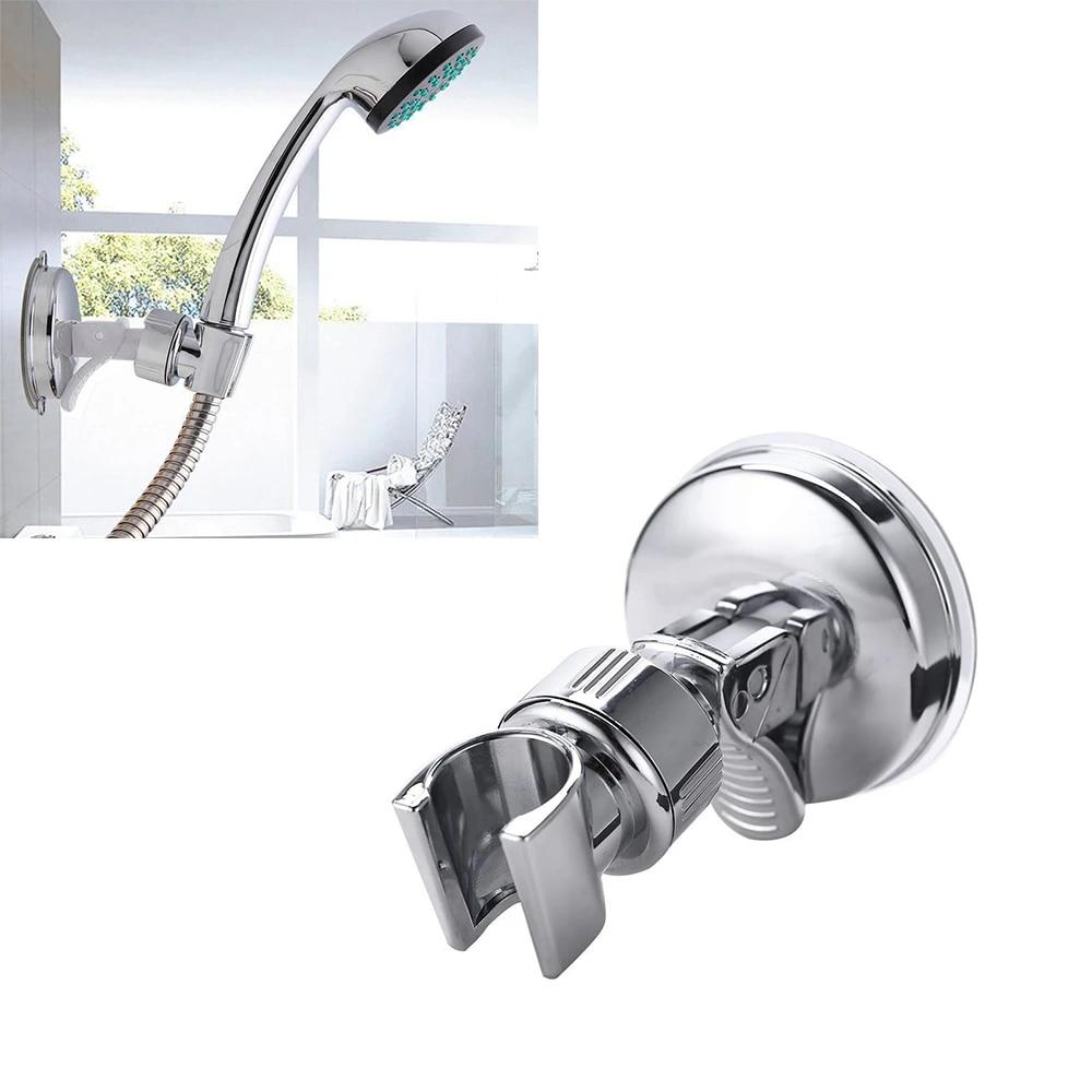 Shower Holder Suction Cup Universal Adjustable Bathroom Moving Mount Shower  Head Holder Stand Bathroom Accessories