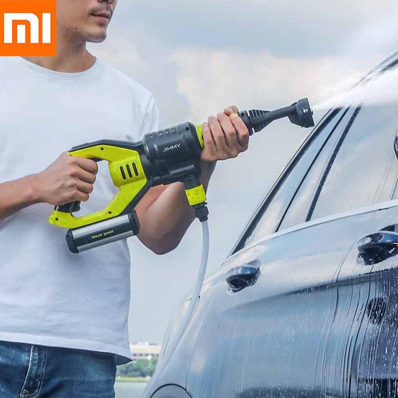 Xiaomi JW31 pistolet de lavage sans fil portable voiture moto laveuse de jardin sans fil 5 Modes tuyau réglable 6 m de Xiaomi Youpin