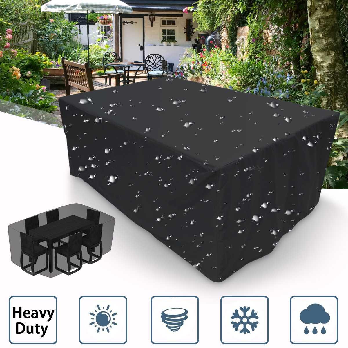 4 Size Waterproof Outdoor Patio Garden Furniture Covers