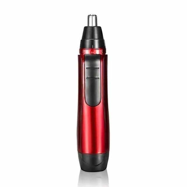 Unisex di Modo Elettrico Viso Del Corpo Del Naso di Rimozione Dei Capelli Trimmer Kit 1 W Rasoio Tagliatore di Rosso