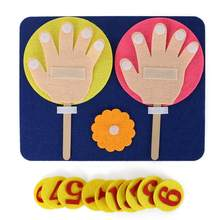Kindergarten Mathematics Educational Toy Finger Numbers Set Child Teaching Toy Educational Innovation Toy(China)