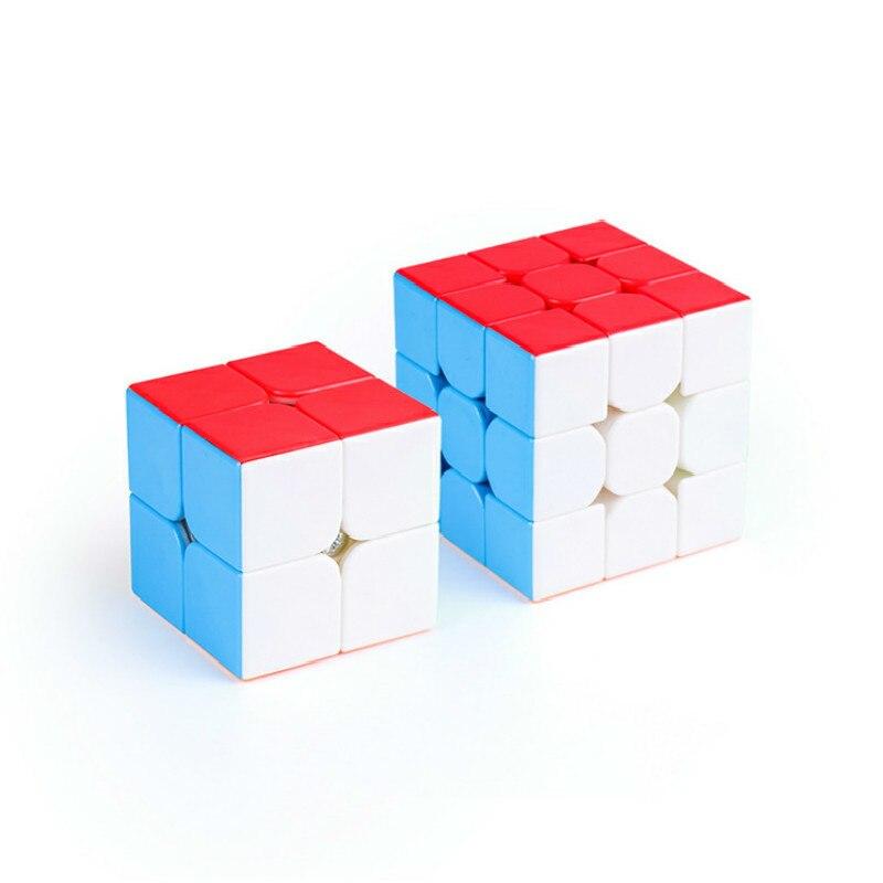 Moyu 2 Piece Set 2x2x2 Neo Fidget Cube + 3x3x3 Cube Set 2x2 + 3x3 Magic Cube Speed Cubes Set Educational Toys For Children KidsMoyu 2 Piece Set 2x2x2 Neo Fidget Cube + 3x3x3 Cube Set 2x2 + 3x3 Magic Cube Speed Cubes Set Educational Toys For Children Kids