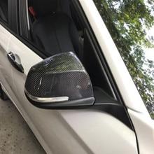 Car Side Rearview Mirror Cap Cover Trim For BMW 1 2 3 4 Series F30 F31 f32 f33 F34 F36 2012-2016 universal replacement carbon fiber mirror cover for bmw rearview door mirror covers x1 f20 f22 f30 gt f34 f32 f33 f36 m2 f87 e84