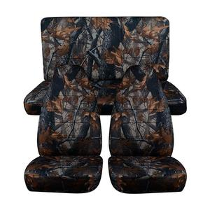 Hunting Camouflage Car Seat Co