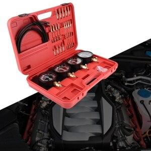 Image 5 - 4Pcs Motorcycle Fuel Vacuum Carburetor Carb Synchronizer Tool Balancer Gauge Kit New