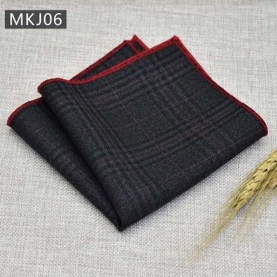 Fashion High Quality Wedding  Hot Sale 1PC Handkerchief MEN Party Pocket Square Cotton