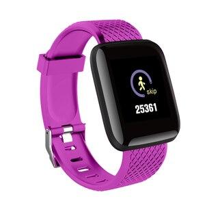 "Image 3 - D13 1.3"" Color Screen Smart Watch 116 PLUS Smart Bracelet Blood Pressure Oxygen Monitor Visible Message Show Smartwatch Bracelet"