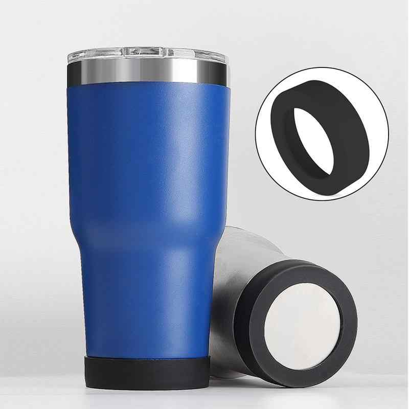 Water Cup Mat Silicone Sleeve Accessories Special Sheath Cup Bottom Ring Wear Resistant Shatter Resistant Bottom Cover Coaster