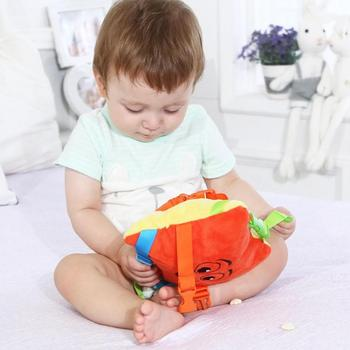 Plush Montessori Toy Baby Basic Life Skill Training Kids Early Educational Color Matching Preschool Play Learning Toys For Baby 2
