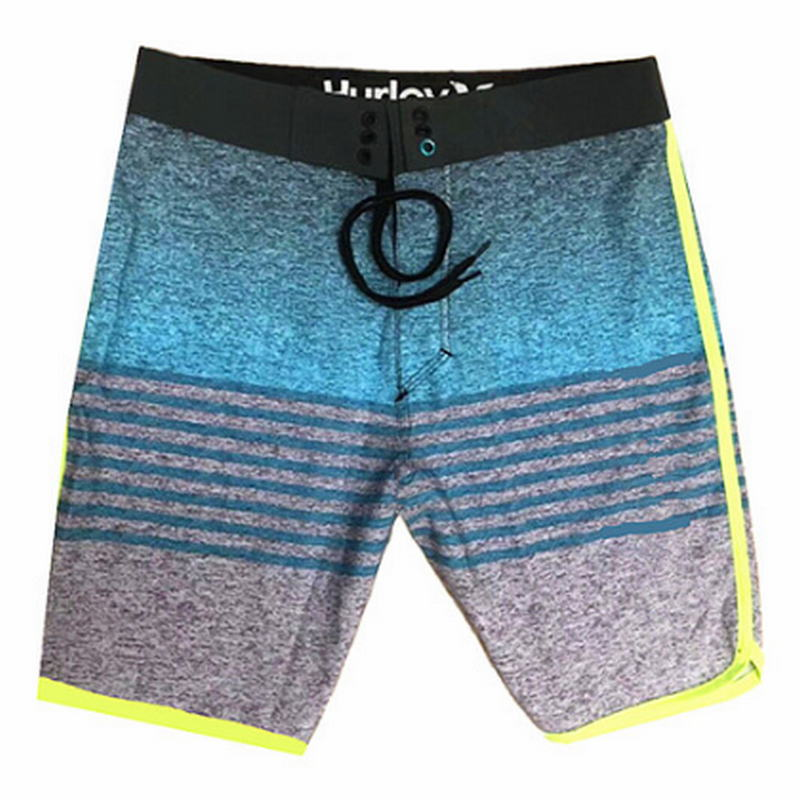 2018 Brand Phantom Men Beach Boardshorts 100% Super Quality Quick Dry Men's Sexy Board Shorts Hawaiian Shorts