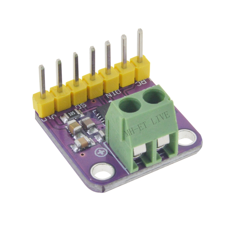 Hot Deals Max98357 I2S 3W Class D Amplifier Breakout Interface Dac Decoder Module Filterless Audio Board For Raspberry Pi Esp3