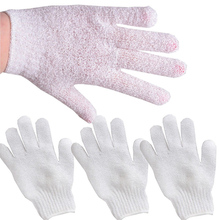 4Pcs Spa Wash Skin Candy Color Scrub Face/legs/body White Cleaner Exfoliating Cleansing Massage Shower Gloves