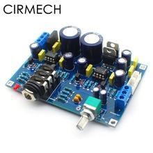 Amplifier-Kit Headphone SOLO Hifi CIRMECH Dual-Ne5534 Diy-Kits Upgrade-Version