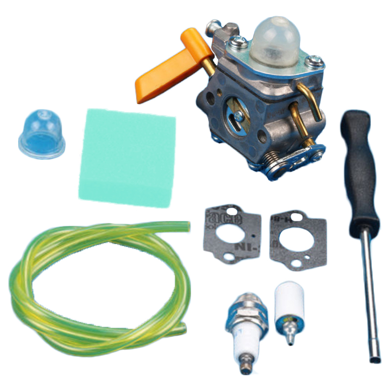 Carburetor Carb Assembly Kit For Homelite Ryobi 26cc 30cc Garden Lawn Grass Trimmer Zama C1U-H60 3080540 Replacement Accessories