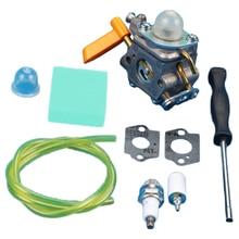 Карбюратор carb комплект для HOMELITE Ryobi 26cc 30cc триммер Zama C1U-H60 3080540 с воздушным фильтром аксессуары