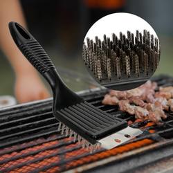 Narzędzia kuchenne drutu szczotki do czyszczenia grilla szczotka do grilla grill narzędzia do czyszczenia na zewnątrz domu grill akcesoria trwałe w Szczotki do czyszczenia od Dom i ogród na